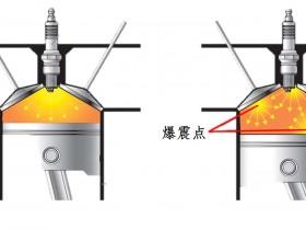 内燃机爆震与缸内温度之间的相互作用